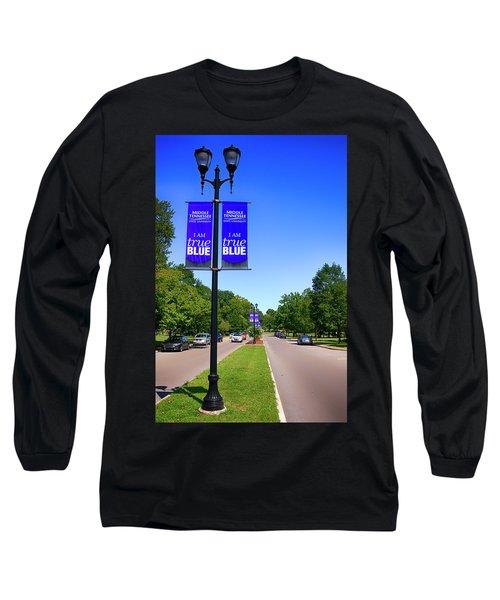 Mtsu Murfreesboro Tn, Usa Long Sleeve T-Shirt