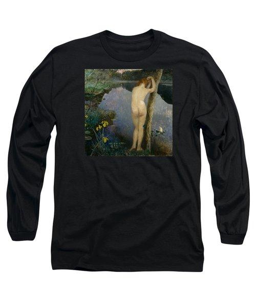 Nocturne Long Sleeve T-Shirt by Eilif Peterssen