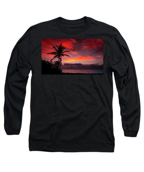 Oceanfront Sunrise Long Sleeve T-Shirt