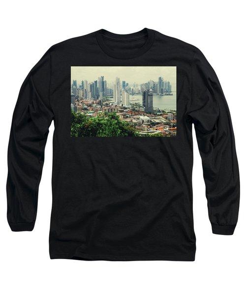 Panama City Long Sleeve T-Shirt by Iris Greenwell