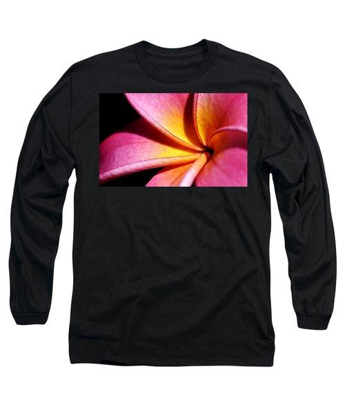 Plumeria Flower Long Sleeve T-Shirt by Werner Lehmann