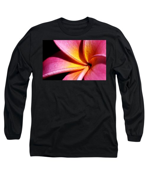 Plumeria Flower Long Sleeve T-Shirt
