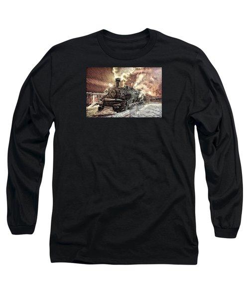 Polar Express. Durango, Colorado #1 Long Sleeve T-Shirt by George Robinson
