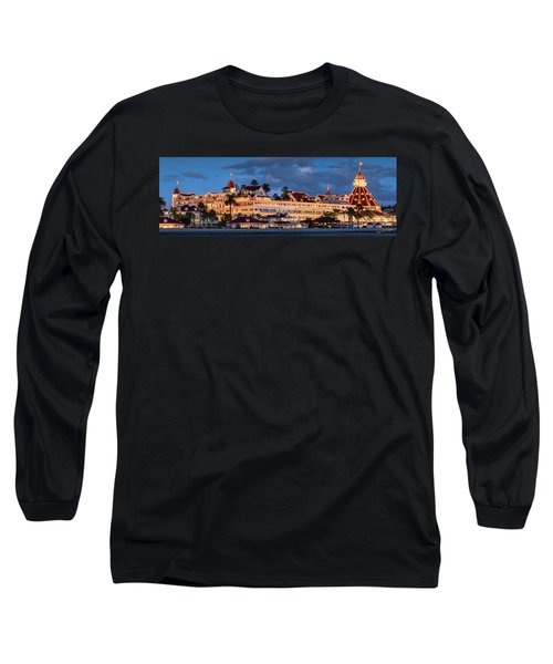 Pure And Simple Pano 60x20 Long Sleeve T-Shirt