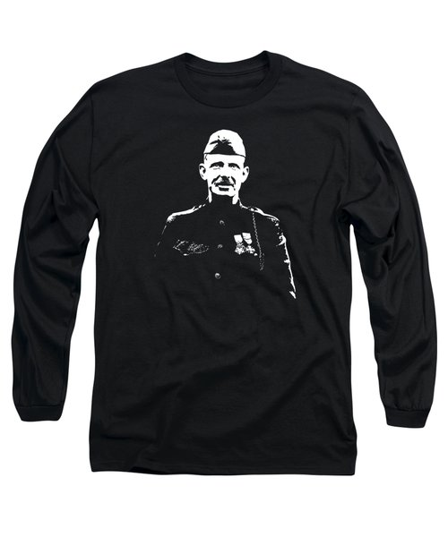 Sergeant Alvin York Graphic Long Sleeve T-Shirt