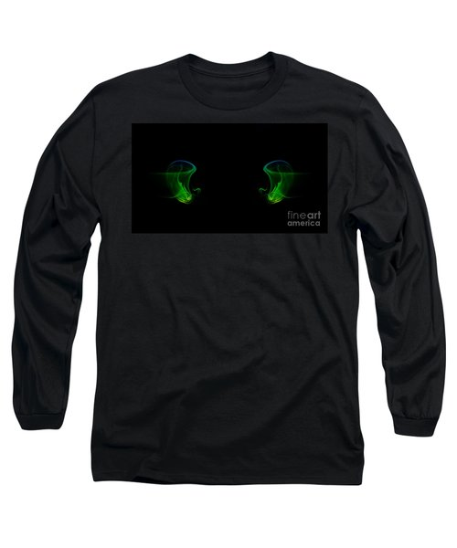 Long Sleeve T-Shirt featuring the photograph smoke XXXIV by Joerg Lingnau