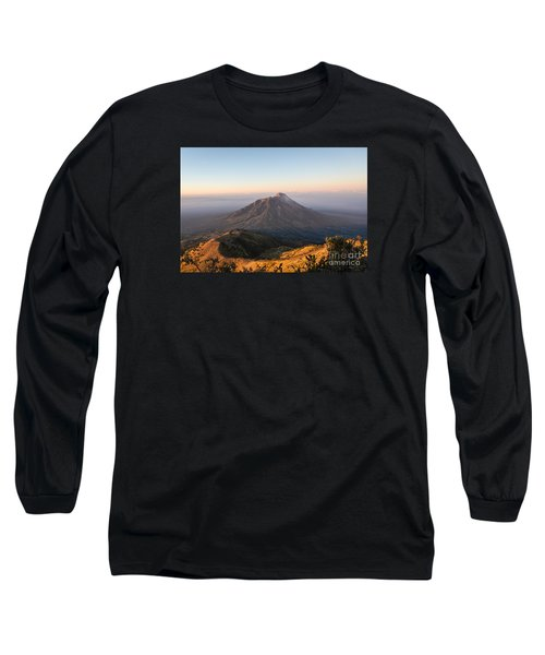 Sunrise Over Java In Indonesia Long Sleeve T-Shirt