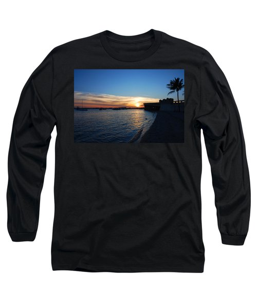 Long Sleeve T-Shirt featuring the photograph 2- Sunset In Paradise by Joseph Keane