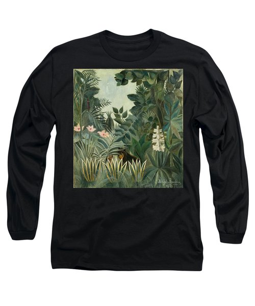 The Equatorial Jungle Long Sleeve T-Shirt