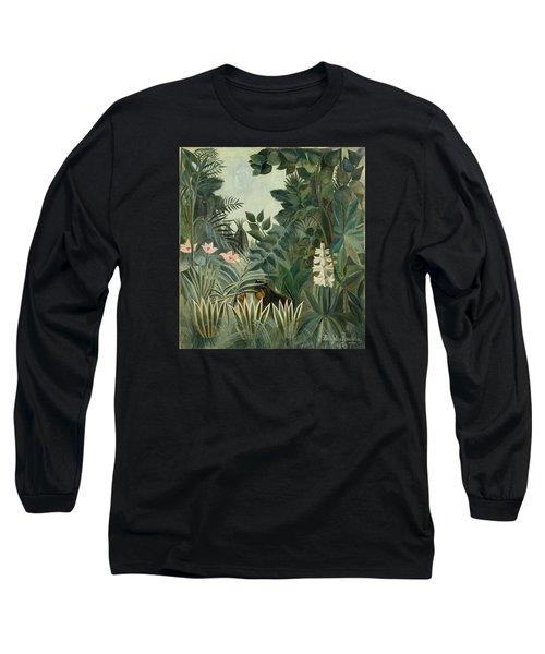 The Equatorial Jungle Long Sleeve T-Shirt