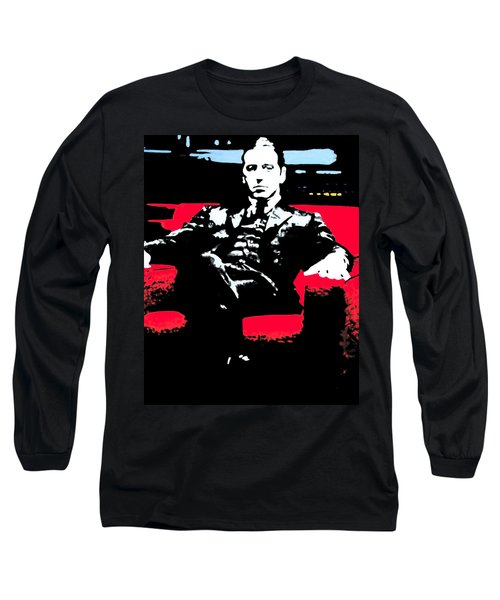 The Godfather Long Sleeve T-Shirt by Luis Ludzska