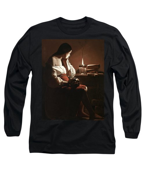 The Magdalen With The Smoking Flame Long Sleeve T-Shirt