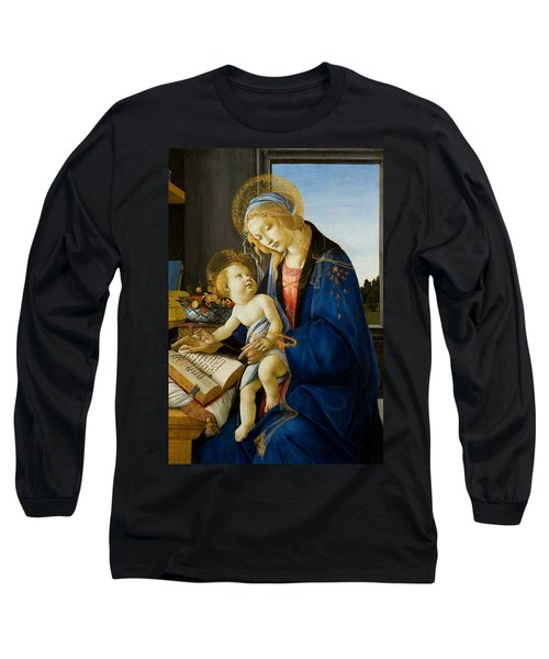 The Virgin And Child Long Sleeve T-Shirt