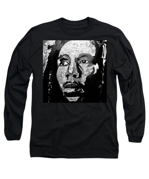 Tribute To Bob Marley Long Sleeve T-Shirt