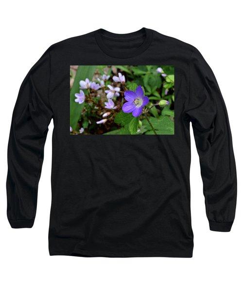 Wild Geranium Long Sleeve T-Shirt
