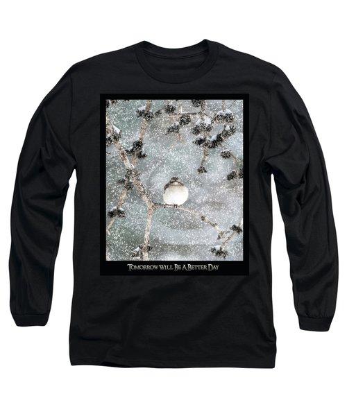 Winter Mockingbird Long Sleeve T-Shirt