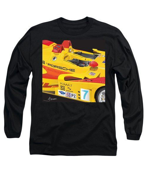 2008 Rs Spyder Illustration Long Sleeve T-Shirt