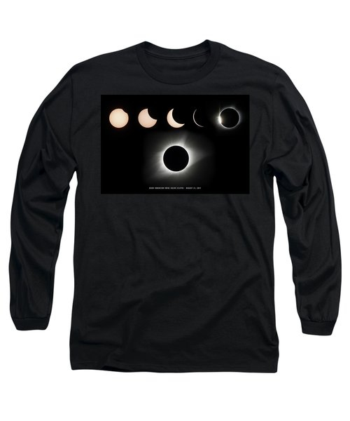 2017 Solar Eclipse Composite Long Sleeve T-Shirt