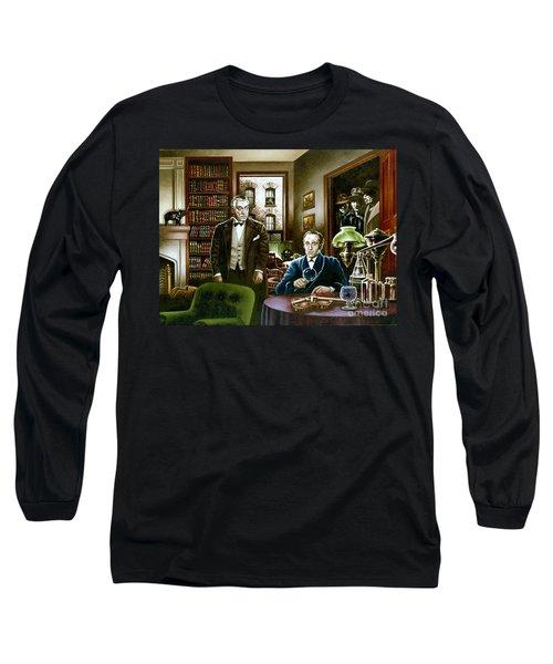 221 B Baker Street Long Sleeve T-Shirt