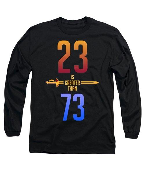 2373 Long Sleeve T-Shirt by Augen Baratbate