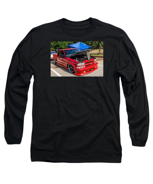 Hall County Sheriffs Office Show And Shine Car Show Long Sleeve T-Shirt by Michael Sussman