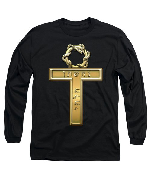 25th Degree Mason - Knight Of The Brazen Serpent Masonic Jewel  Long Sleeve T-Shirt