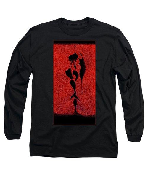 Long Sleeve T-Shirt featuring the digital art . by James Lanigan Thompson MFA