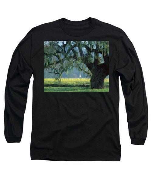 2b6319 Mustard In The Oaks Sonoma Ca Long Sleeve T-Shirt