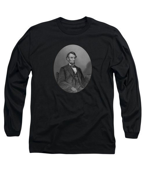 Abraham Lincoln Long Sleeve T-Shirt by War Is Hell Store