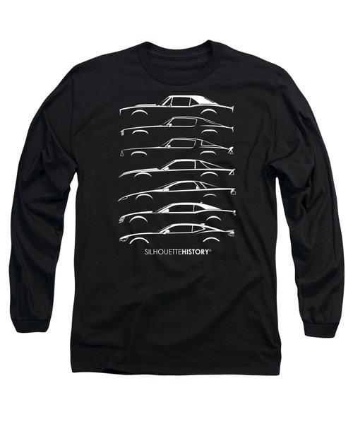 American Pony Silhouettehistory Long Sleeve T-Shirt