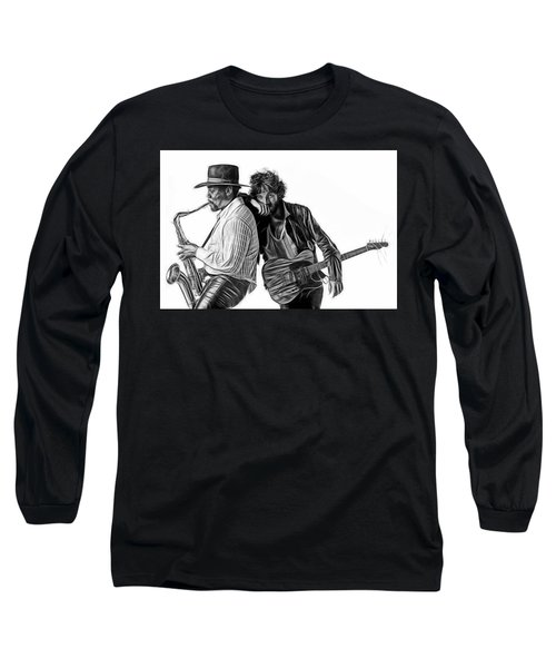 Bruce Springsteen Clarence Clemons Collection Long Sleeve T-Shirt