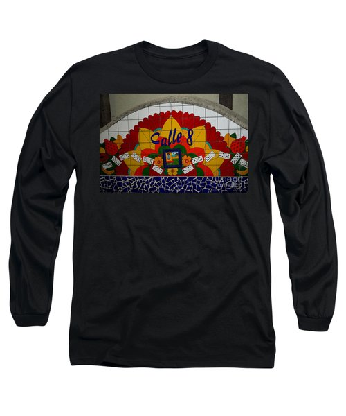 Calle Ocho Cuban Festival Miami Long Sleeve T-Shirt