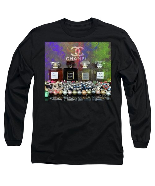 Chanel  Abstract Long Sleeve T-Shirt