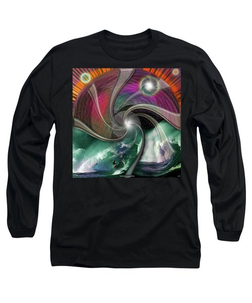 Cosmic Surfer Long Sleeve T-Shirt