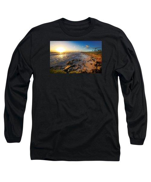 3 Degrees Below The Sun Long Sleeve T-Shirt by Robert Och