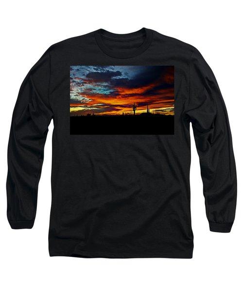 Fire Sky  Long Sleeve T-Shirt
