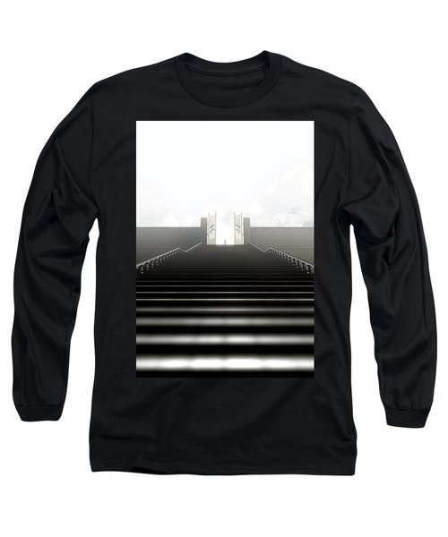 Heavens Gates And Silhouette Long Sleeve T-Shirt