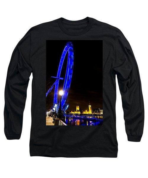 London Eye Night View Long Sleeve T-Shirt