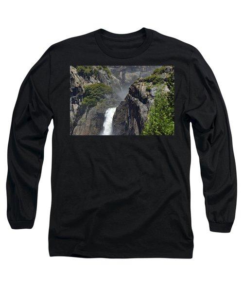 Lower Yosemite Falls Long Sleeve T-Shirt