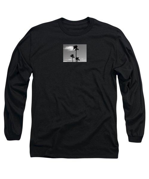 3 Palms Long Sleeve T-Shirt by Janice Westerberg