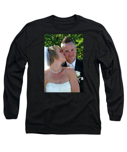 Rebecca And David Long Sleeve T-Shirt by Michael Dorn