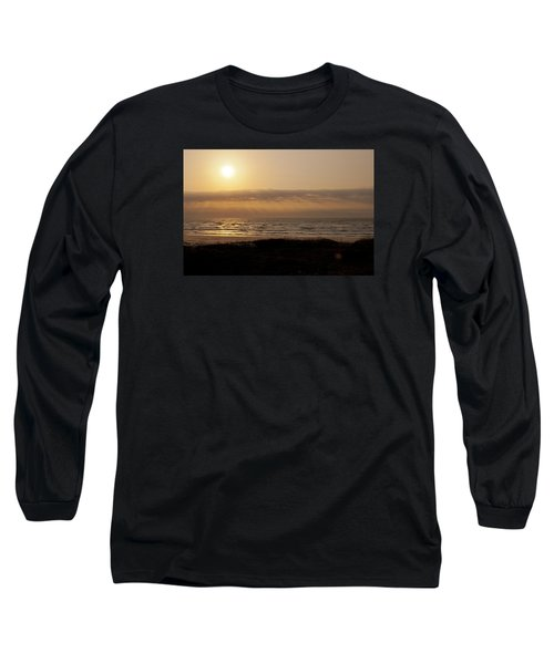 Sunrise At Beach Long Sleeve T-Shirt
