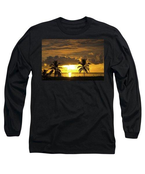 Sunrise Miami Beach Long Sleeve T-Shirt