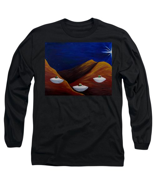3 Wise Guys Long Sleeve T-Shirt