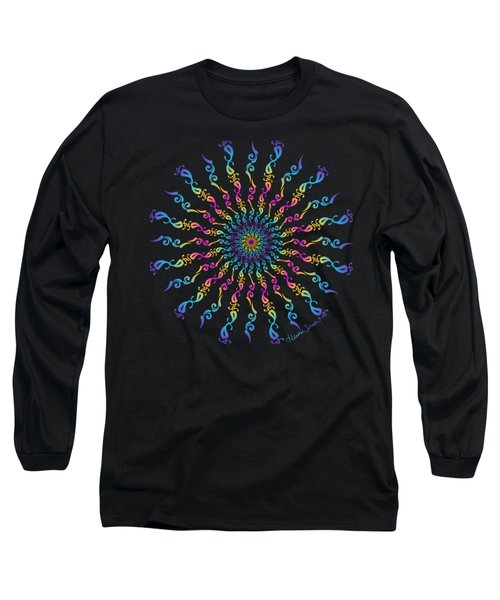 30 Degrees Of Separation Long Sleeve T-Shirt