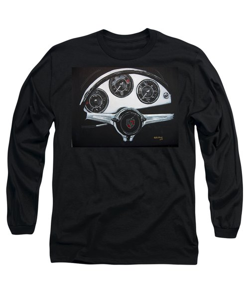 356 Porsche Dash Long Sleeve T-Shirt