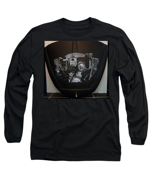 356 Porsche Engine On A Vw Cover Long Sleeve T-Shirt