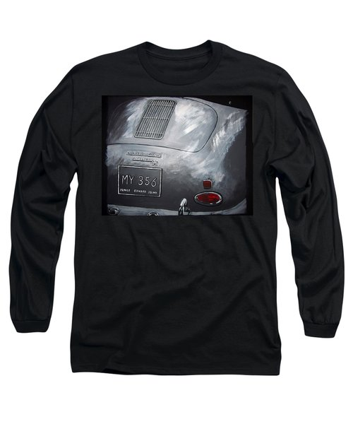 356 Porsche Rear Long Sleeve T-Shirt