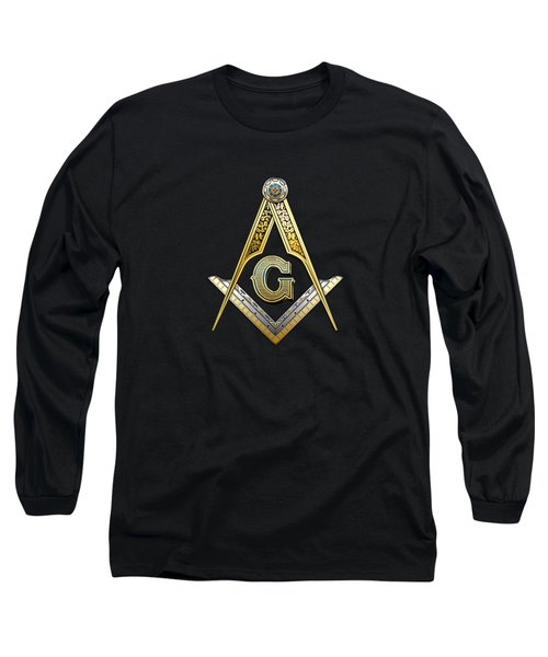 3rd Degree Mason - Master Mason Masonic Jewel  Long Sleeve T-Shirt