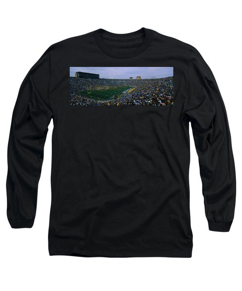 High Angle View Of A Football Stadium Long Sleeve T-Shirt
